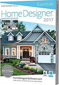 amazon com chief architect home designer essentials 2017