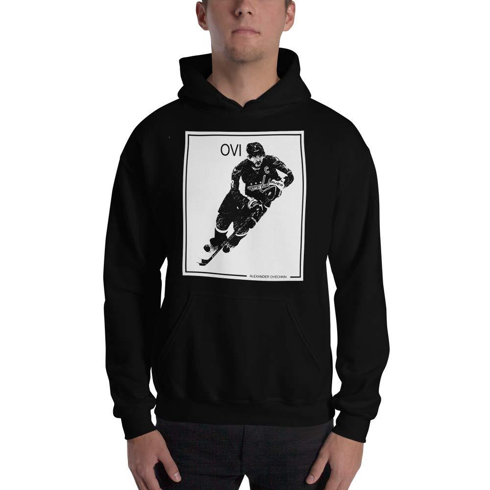 Ovechkin Hoodie Alexander Ovechkin Hooded Sweatshirt ice Hockey Legend Style