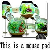 (mouse pad) Fish tank Mouse Pad, Mousepad (Fish Mouse Pad) Sold by Yanteng Inc 220X180X3mm