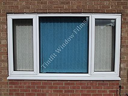 NON REFLECTIVE ROYAL BLUE 40 FROM /£6.99 ONE WAY PRO WINDOW TINTING FILM 152cm x 10m