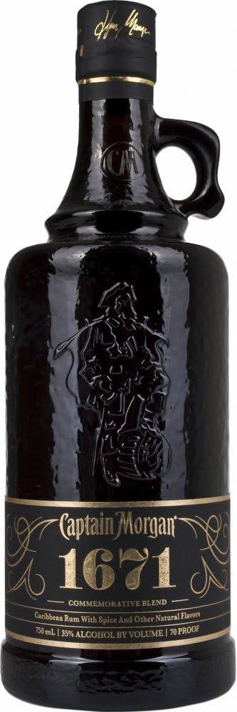 Captain Morgan 1671 Commemorative Blend Limited Edition 2014 Rum, 750 ml