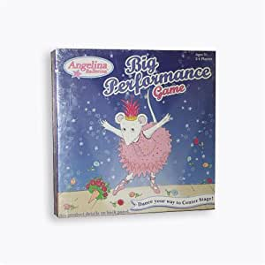 angelina ballerina big performance game instructions
