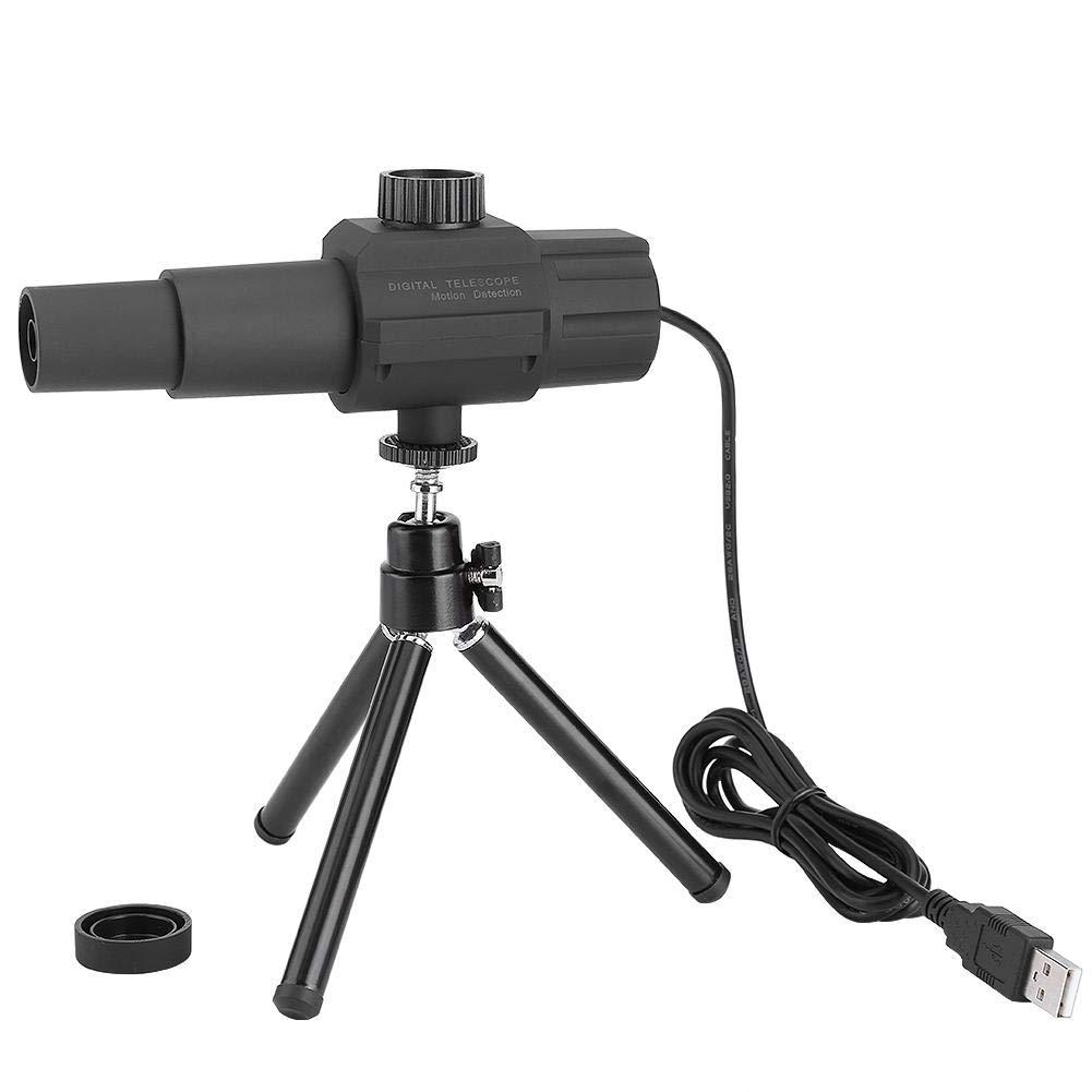Telescopio C/ámara para competiciones Deportivas y conciertos astronom/ía 2 Megap/íxeles 70 Veces Lente de Zoom Telescopio Digital USB con Tr/ípode Detecci/ón de Movimiento Inteligente