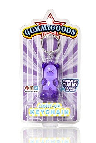 [Gummygoods Keychain - Purple] (Butterfly Tween Costumes)