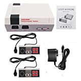 EDTara Video Games for NES Game Player Classic Mini Family Game Consoles Built-in 500 TV Video Game with Dual Controllers HDMI Edition US plug
