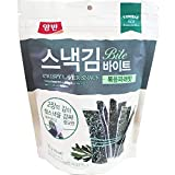 Dongwon Crispy Laver Snack Bite Roasted Green Laver 35g x 16 스낵김