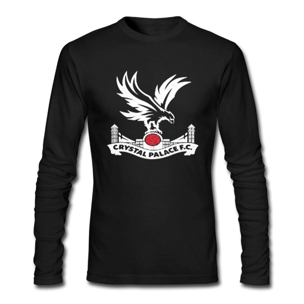 d9fabc57aaaf Amazon.com  Ghyrshgryus Men Crystal Palace FC Football Club Long Sleeve   Clothing
