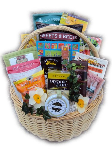 Healthy Gift Basket - Women by Well Baskets by Well Baskets