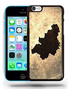 Belgium National Vintage Country Landscape Atlas Map Phone Case Cover Designs for iPhone 5C