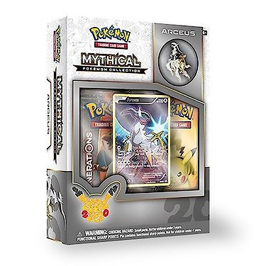 TCG Mythical Collection Arceus Card Game