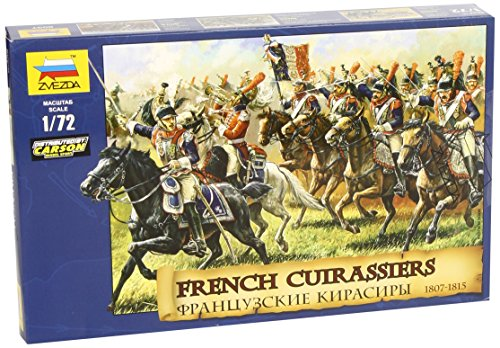 (ZVEZDA 8037 - French Cuirassiers 1807-1815 - Plastic Model Soldiers Kit Scale 1/72 1