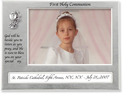 Cathedral Art W401 First Holy Communion Caption Frame, 8 by 6-Inch by Cathedral Art
