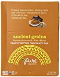 Pure Organic Ancient Grains Peanut Butter Chocolate Bar, 1.5 oz, 12 Count
