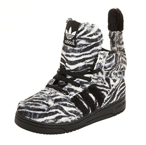 G95762 Kids Zebra White JS I Black Jeremy Scott Black White adidas B7wq1vRY