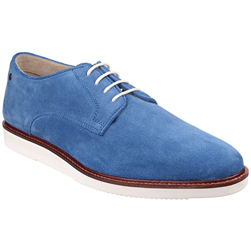 London Garrick Suede Base Lace Everyday Mens Shoes Sky Blue Casual Up aEdTnqT