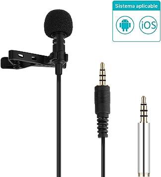 GHB Mini Micrófono de Condensador Omnidireccional Micrófonos ...