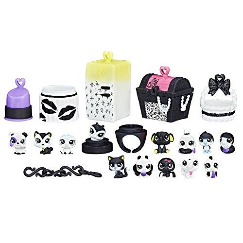 Littlest Pet Shop Black & White Pet Pack, Collection 1