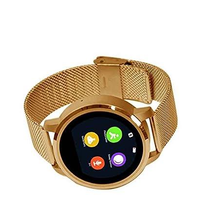 reloj inteligente Multi-funciones,Smartwatch Diseño único,Seguimiento Calorías,pantalla táctil capacitiva