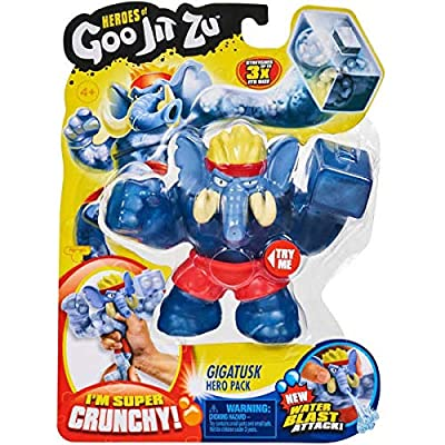 IP Heroes of Goo JIT Zu Series 2 - Gigatusk The Elephant Action Figure Bonus: (Exclusive Swag Bag Stuffed with Extra Toys ) for Boys Girls Playtime and Family Fun!: Toys & Games