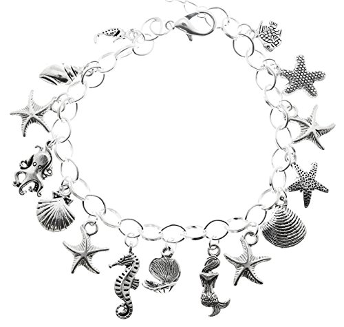 AVBeads Jewelry Charm Bracelet Beach Charms JWL-CB-BS (BS15-101) (Charm Beach Theme)