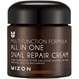 Snail Repair Cream 2.53 oz, Face Moisturizer with Snail Mucin Extract, All in One Snail Repair Cream, Recovery Cream…
