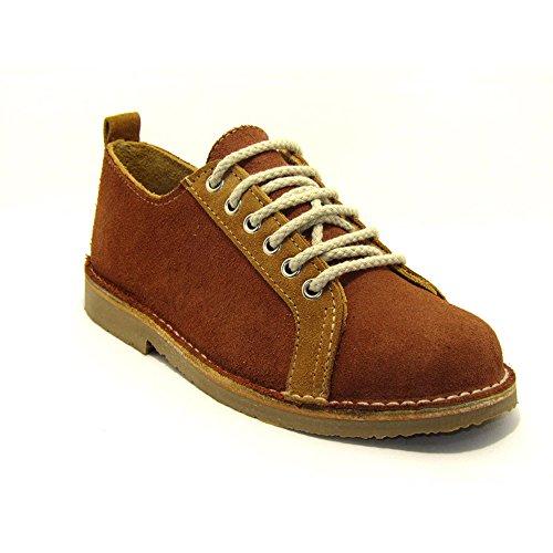 R906FP - Zapato deportivo castaño - tierra