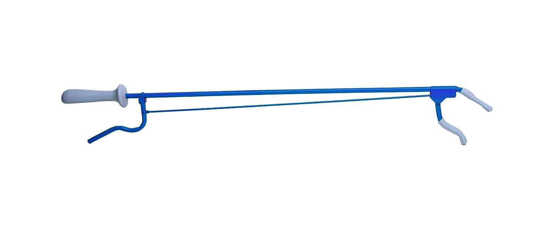 80cm blau Greifzange Metall ca