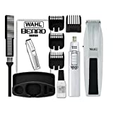 Wahl Mustache & Beard Battery-Operated Trimmer with a Bonus Nose, Ear & Brow Trimmer