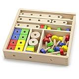 Viga Wooden Construction Set (53-Piece) by Viga