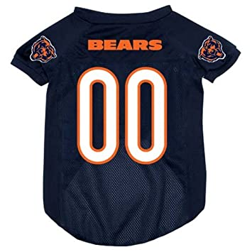 f309a3102 ... Amazon.com Chicago Bears Fan Shop Hunter MFG Chicago Bears Dog Jersey