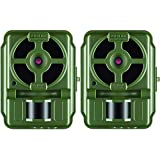 Primos 10MP Proof Cam 01 HD Trail Camera with Low-Glow LEDs, Green - Set of 2
