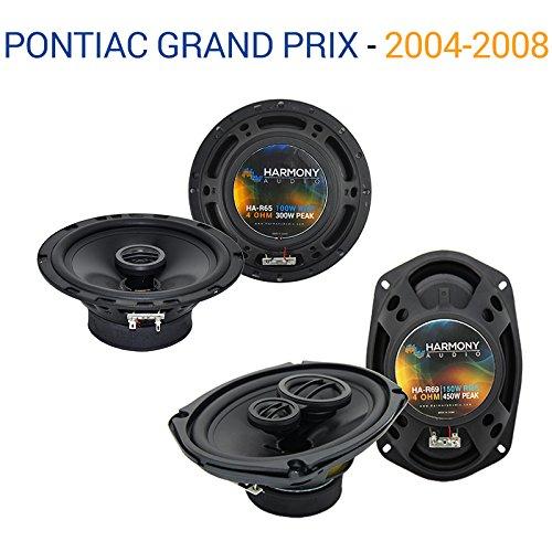 Fits Pontiac Grand Prix 2004-2008 OEM Speaker Upgrade Harmony R65 R69 Package - Prix Speakers Grand Pontiac