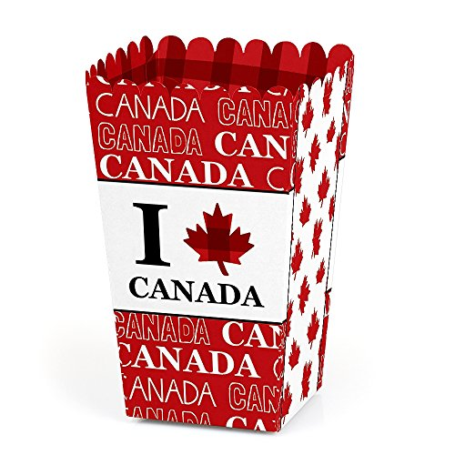 Canada Day - Canadian Party Favor Popcorn Treat