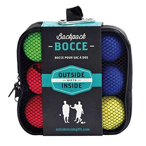 Outside Inside Backpack Bocce Balls (5.5 X 5.5-Inch)