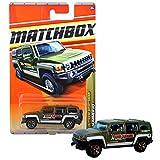 hummer h3 toy car - Matchbox Year 2010 Outdoor Sportsman Series 1:64 Scale Die Cast Car Set #83 - Big Water Rafting Dark Green SUV/Sport Utility Truck HUMMER H3 T8980