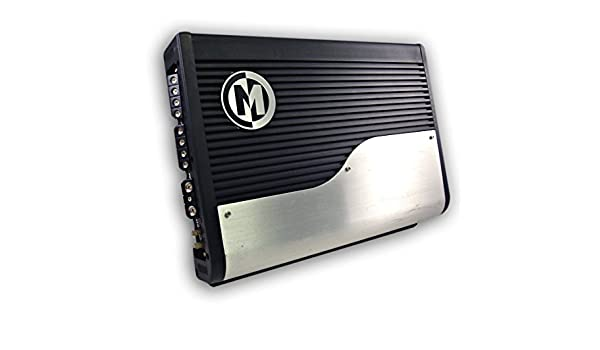 Amazon.com: Memphis 16-PR100.4 4 x 50 Watts RMS at 4 Ohms 4 Channel Amplifier 800W Max: Car Electronics