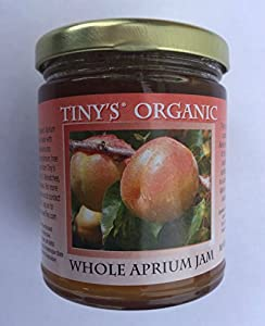 Tiny's Organic Aprium Jam, 8 oz (12 pack) - GLUTEN FREE