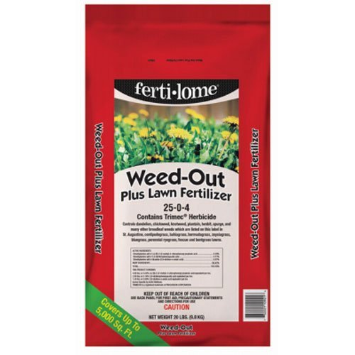VPG 10921 Weed-Out Weed Killer and Lawn Fertilizer, 20-Pound