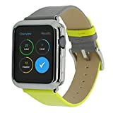 Sonmer Leather Watch Wrist Band For Apple Watch 1/2/3 38mm