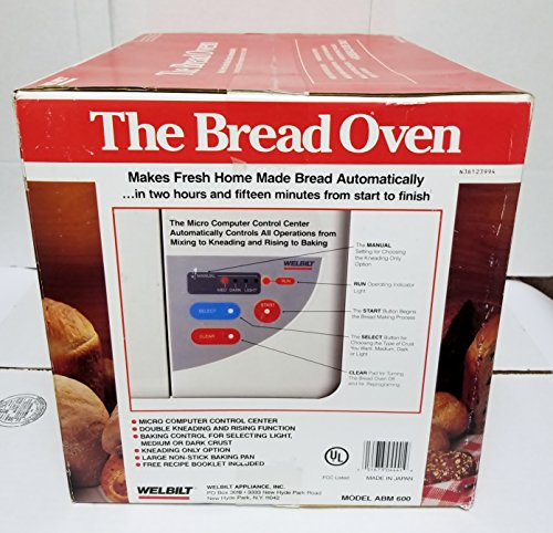 Welbilt ''The Bread Oven'' ABM600 Bread Maker Machine NEW IN BOX by Welbilt (Image #1)