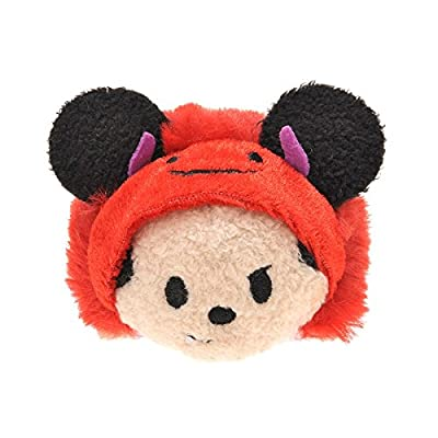 Tsum Tsum Plush / Smartphone Cleaner Halloween Mickey (S) (Japan Import)