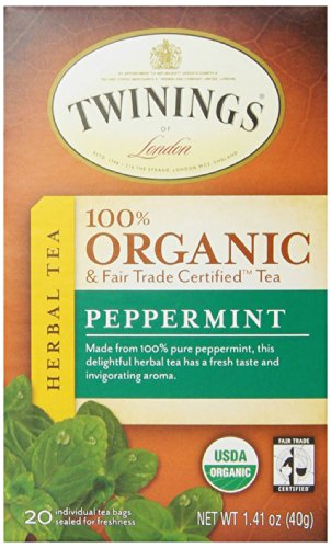 Twinings Organic Tea, Peppermint,1.41 Ounce