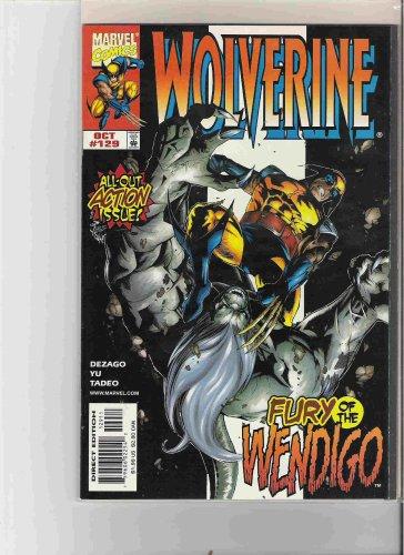 WOLVERINE COMIC BOOK BY MARVEL COMICS, FURY OF THE WENDIGO (FURY OF THE WENDIGO)