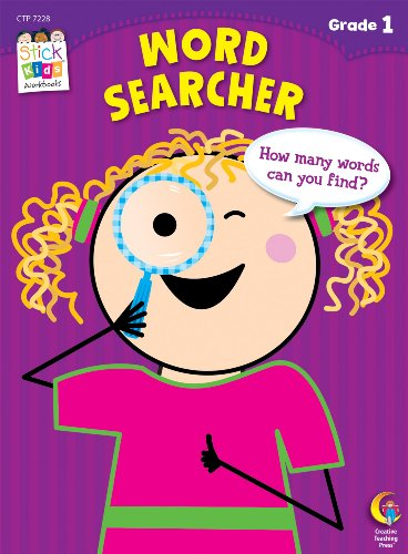 Word Searcher Stick Kids Workbook, Grade 1 (Stick Kids Workbooks)