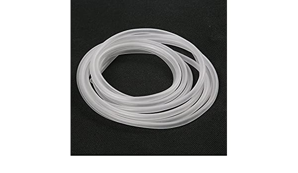 Amazon.com : eDealMax Oxígeno pecera Circular el aire Suave de silicona Flexible Pipe Claro 5M : Pet Supplies