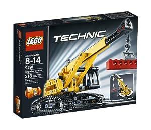 amazoncom lego technic tracked crane 9391 toys amp games