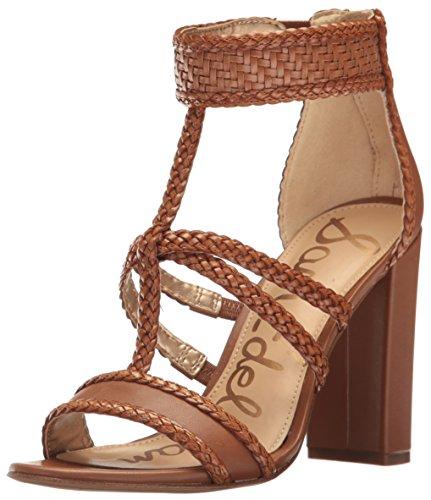Sam Edelman Women's Yordana Heeled Sandal - Saddle Leathe...