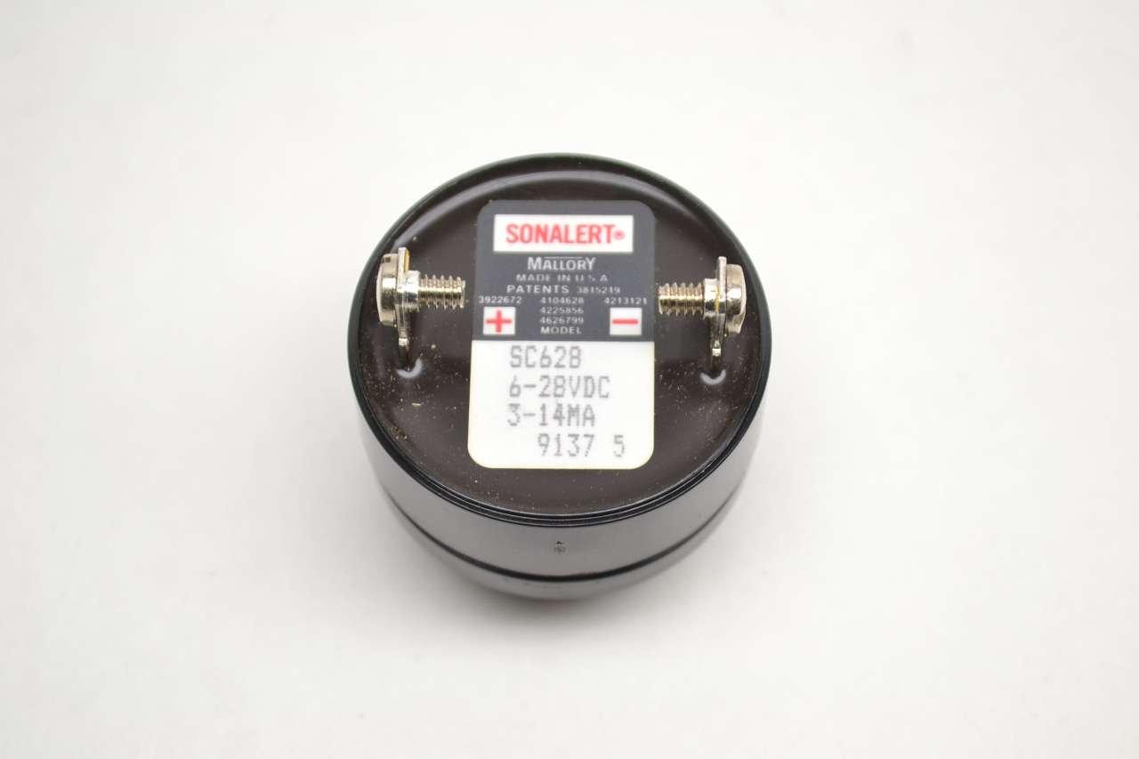Mallory, sc628 Transductor piezo, 2,9 kHz, 80dba, 28 VDC: Amazon.es: Industria, empresas y ciencia