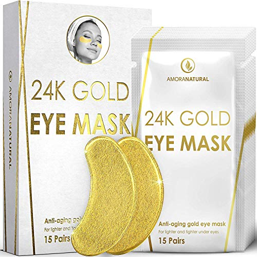 24K Gold Eye Masks All Natural product image