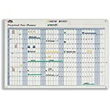 OfficeForce Perpetual Year Planner for Any Year Complete with Stickers - With FREE OfficeForce Jotter Pad (see inset)